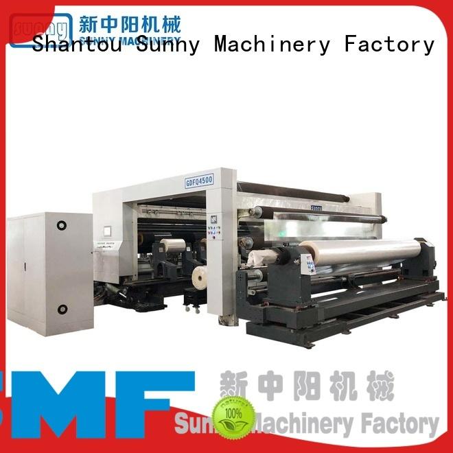 Sunny gantry rewinder slitter machine wholesale for sale