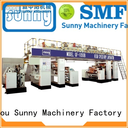 Sunny tb1300 extrusion laminating machine supplier for packaging