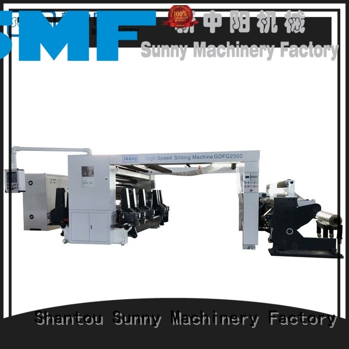 Sunny stations slitter rewinder wholesale for factory