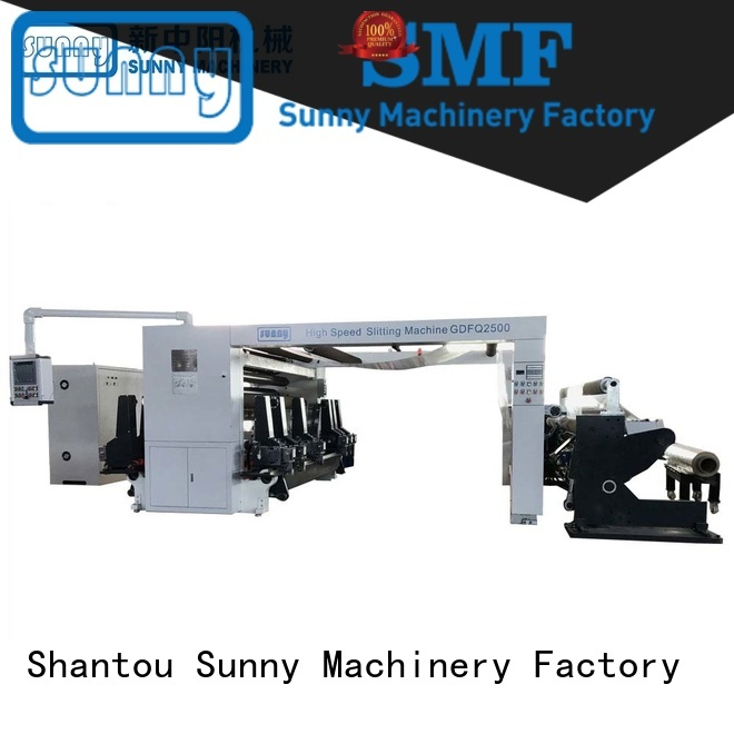 Sunny paper slitter rewinder machine wholesale for factory