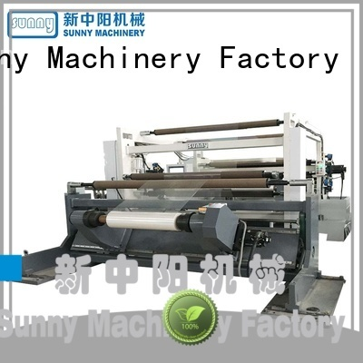 low cost rewinder slitter machine rewinding customized for factory