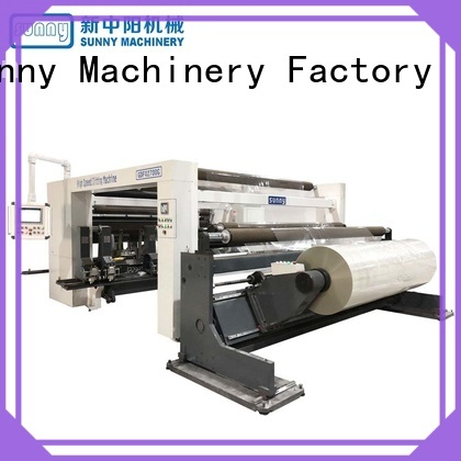 Sunny quality slitting rewinding machine manufacturer for factory