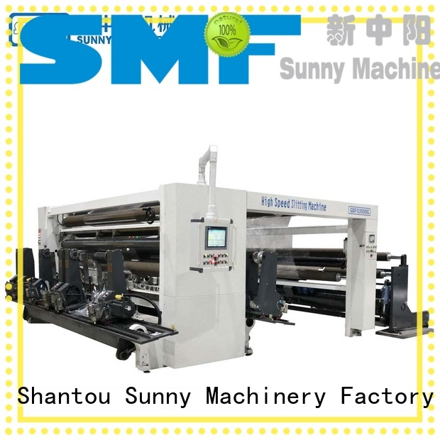 Sunny digital rewinder slitter wholesale bulk production