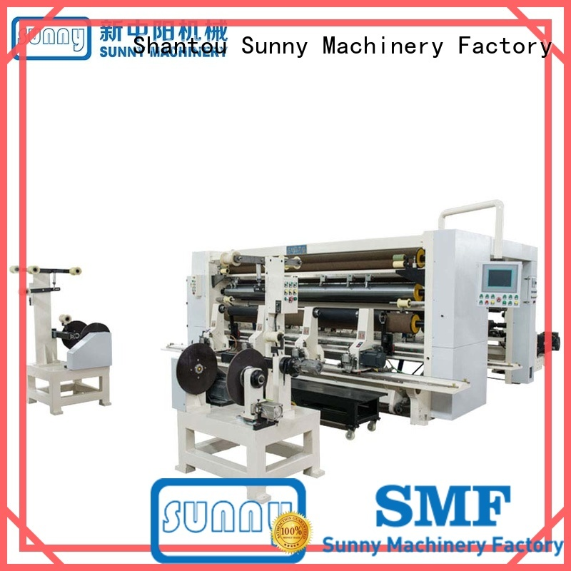 rewind slitting machines film for production Sunny