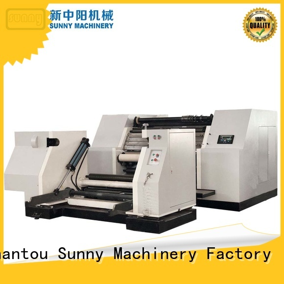 Sunny gftw900a slitting and rewinding machine customized for factory