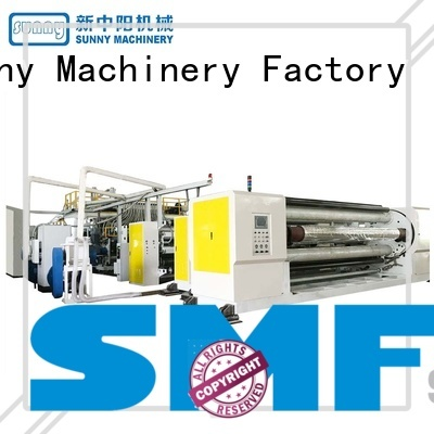 Sunny high quality cast film machine customized for factory