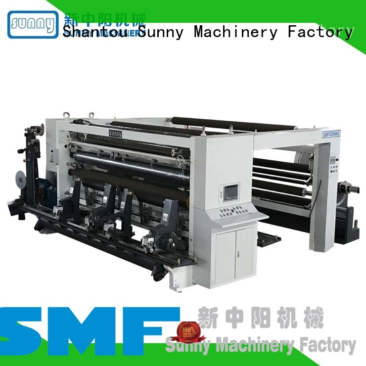 Sunny Sunny slitting and rewinding machine manufacturer for factory