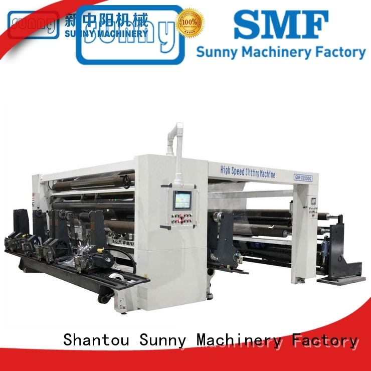Sunny film slitting machines customized for factory