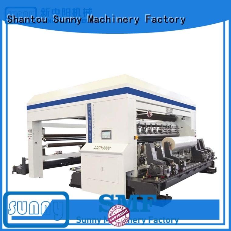 High Speed Slitting & Rewinding Machine Gantry Type Model GDFQ3500F