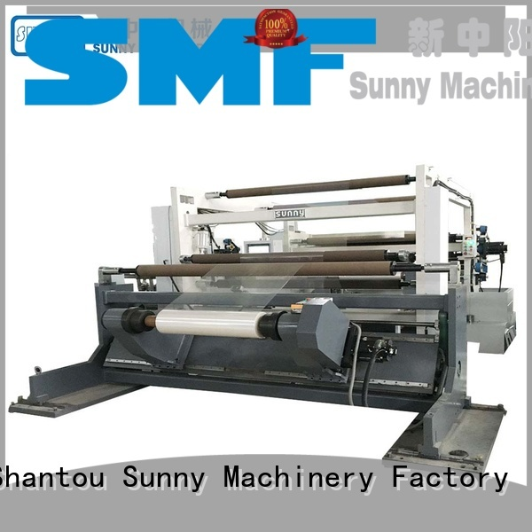 Sunny jumbo slitting and rewinding machine wholesale bulk production