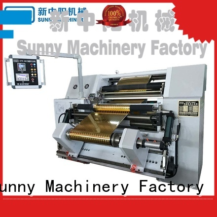 Sunny stations slitting machines manufacturer for production