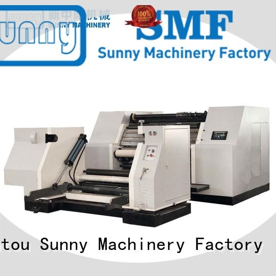 Sunny roll rewinder slitter machine wholesale at discount