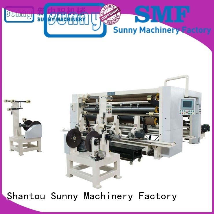 Sunny jumbo slitter rewinder machine customized bulk production