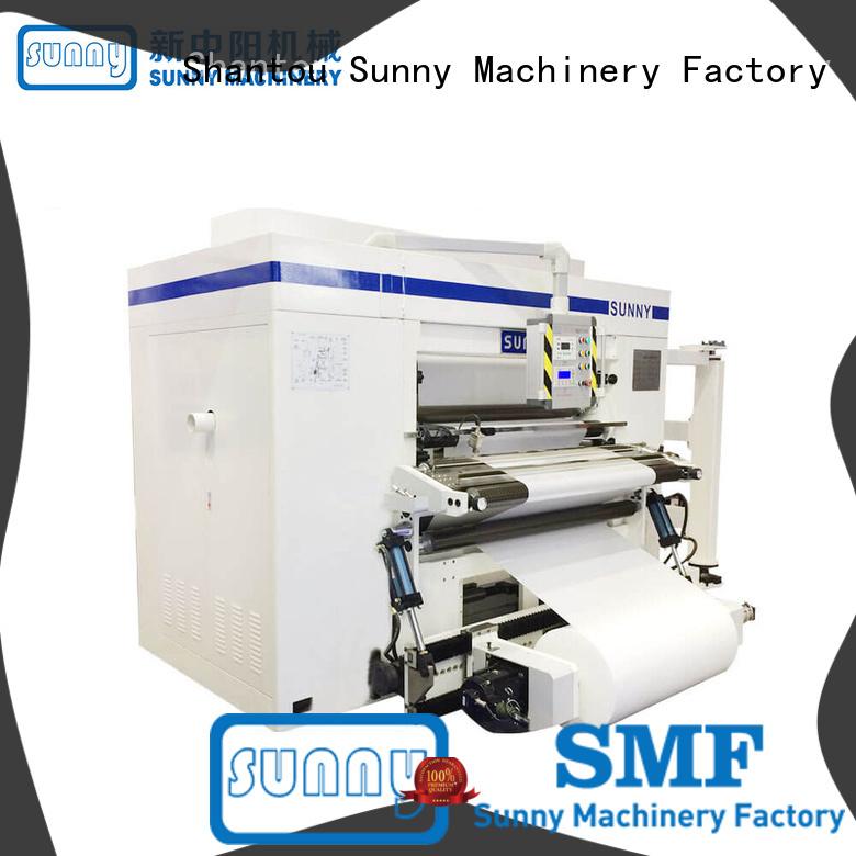 Sunny Sunny rewinding machinery wholesale bulk production