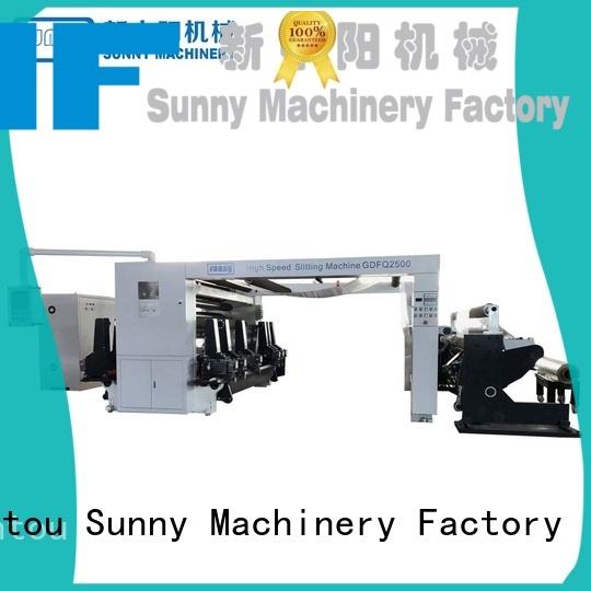 Sunny high quality rewinder slitter supplier for sale