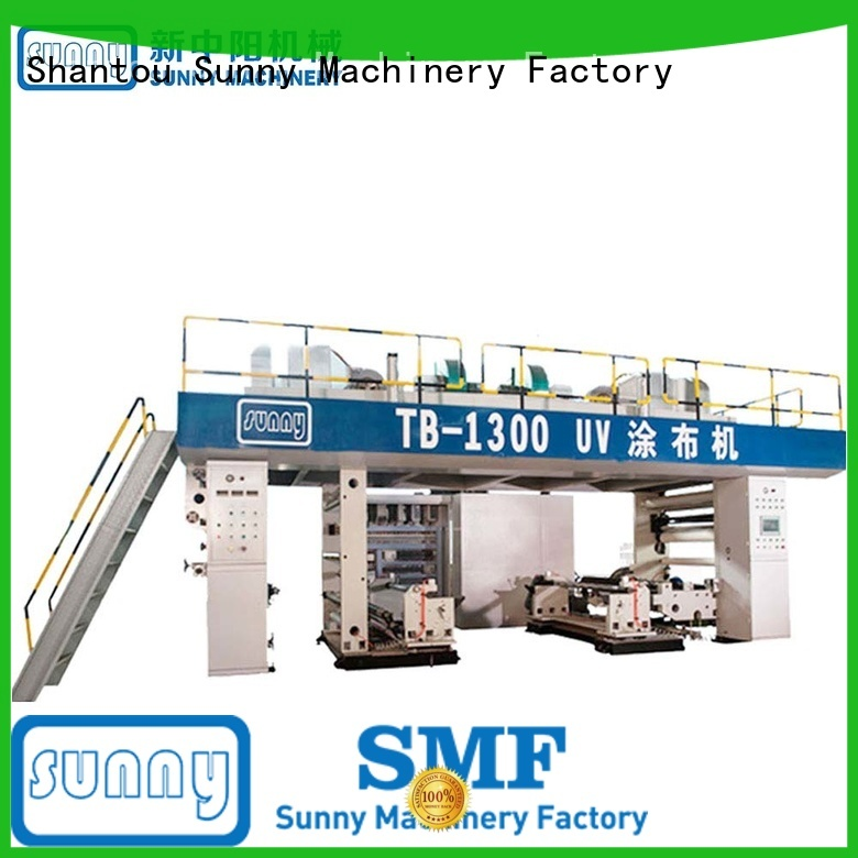 Sunny rewind extrusion coating lamination plant supplier for laminating