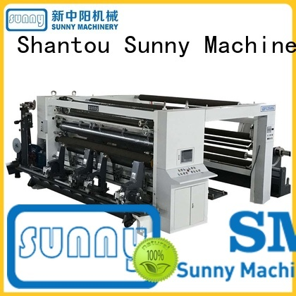 Sunny low cost slitting and rewinding machine manufacturer at discount