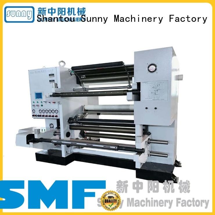 Sunny horizontal slitting and rewinding machine customized for factory