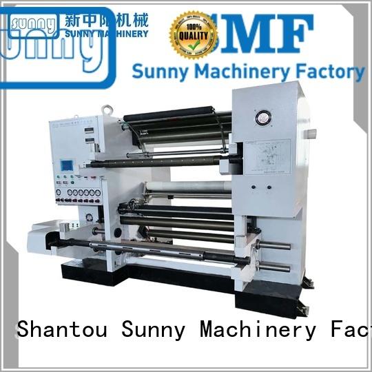 stations duplex slitter rewinder machine wholesale for production Sunny