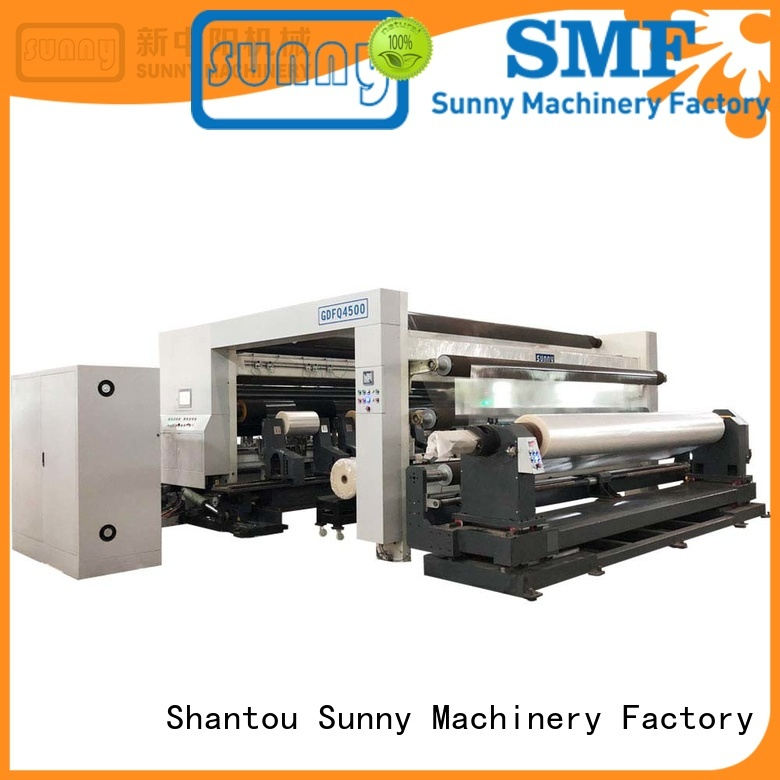 Sunny high quality rewinding machinery manufacturer for sale