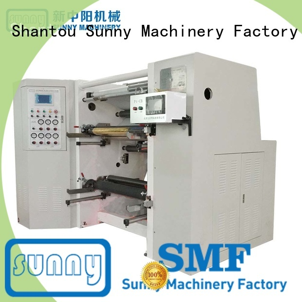 Sunny horizontal slitter rewinder machine customized for sale
