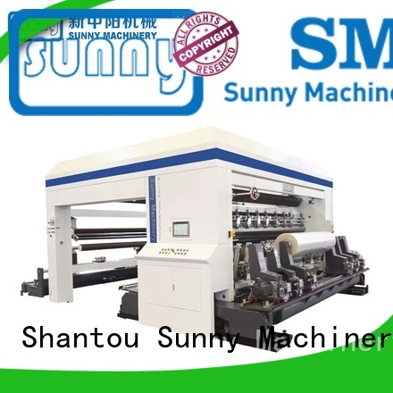 Sunny horizontal rewind slitting machines manufacturer for production