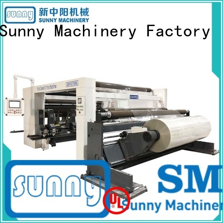 Sunny jumbo slitting and rewinding machine manufacturer at discount