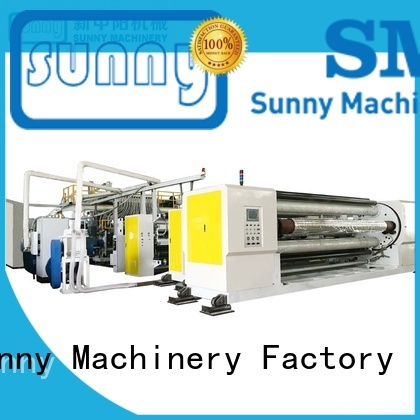 Sunny cast film extrusion machine customized for factory